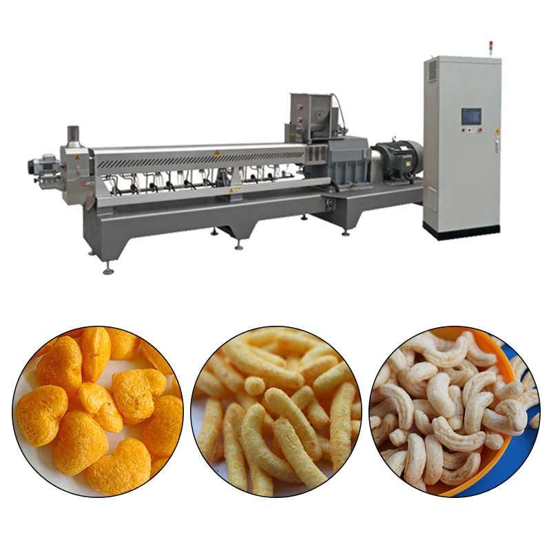 120kg-1200kg/h Corn Puff Making Machine/ Production Line