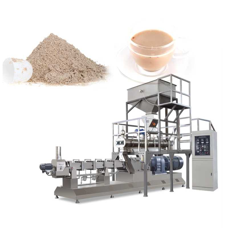 7-55KW Power Nutritional Instant Porridge Processing Line Food Machinery for Rice Powder
