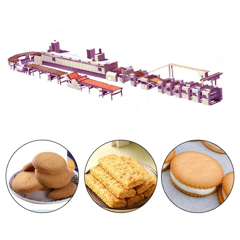 Industry Multi-Function Automatic Biscuit Production Line Biscuit Making Machine