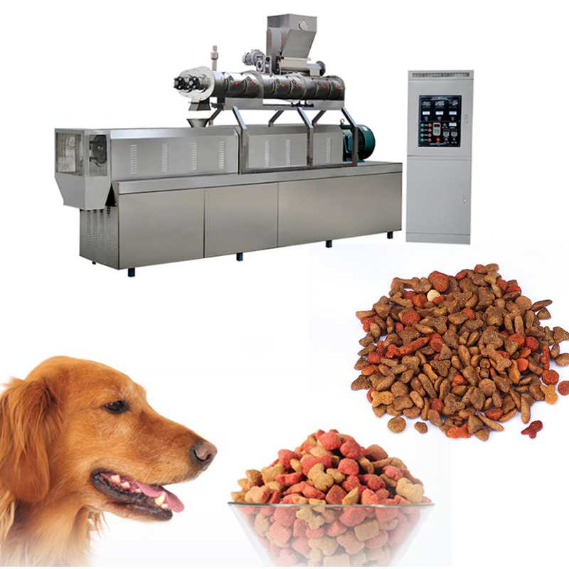 High Speed Dog Food Production Line Pet Dog Food Making Machine