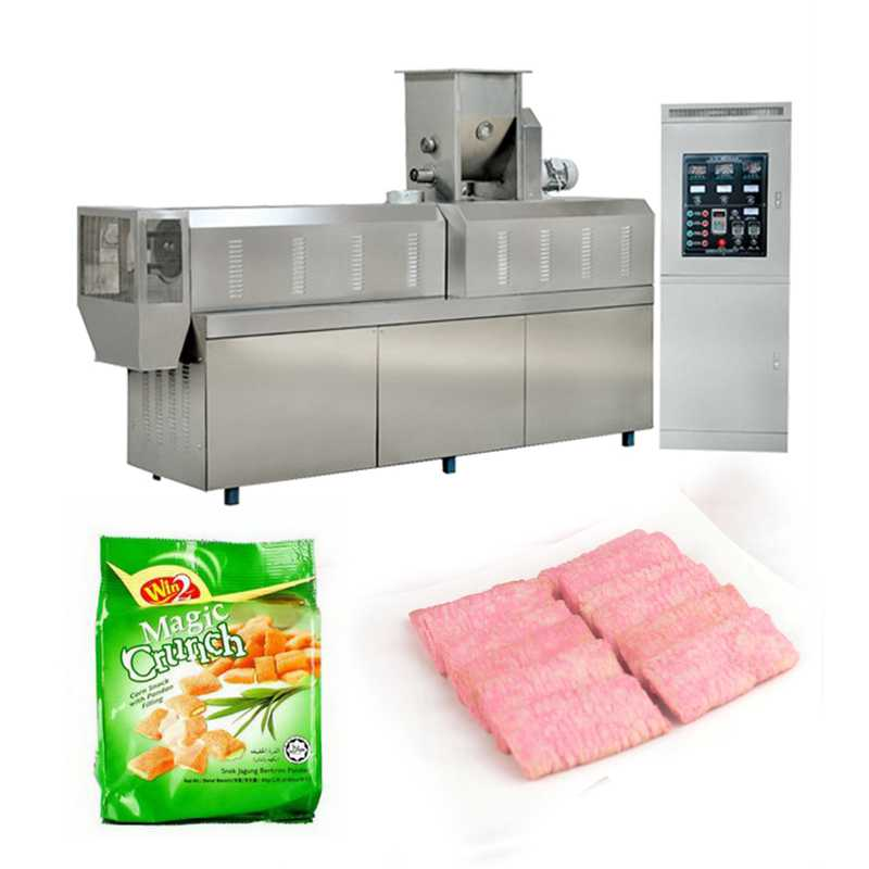 Automatic Frequency Speed Controlling Sun Chips Production Line Extruder Machine