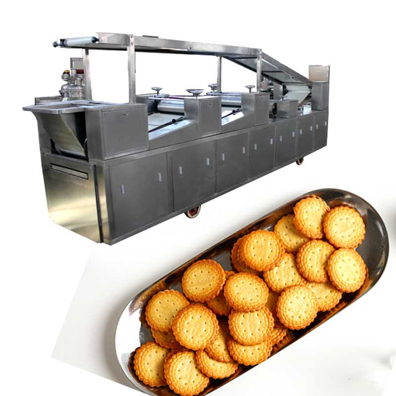 304 Stainless Steel Complete Biscuit Production Line for Walnut Cake Biscuits