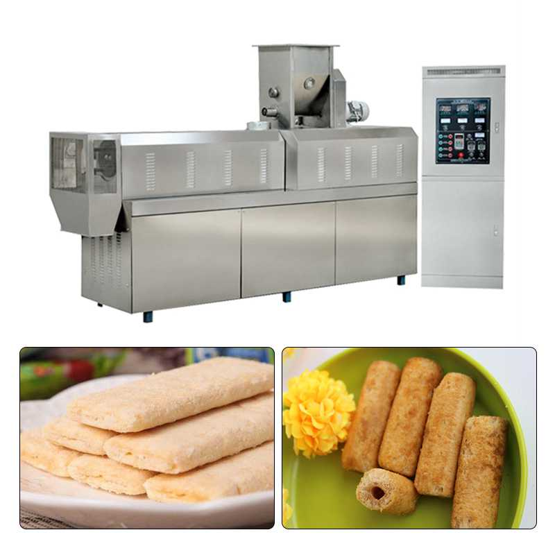 High Automatic Core Filling Snack Food Processing Line Self Cleaning, 220/380/415V