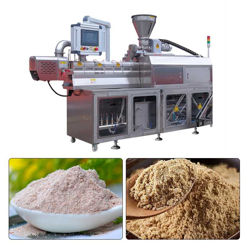 300-500Kg/h Nutritional Powder Baby Food Processing Line For Beans Milk Powder