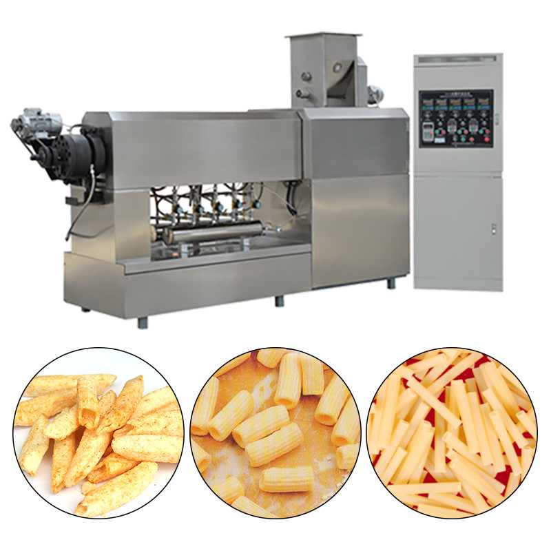 High Productivity Jam Center Snack Food Processing Line With Coating System