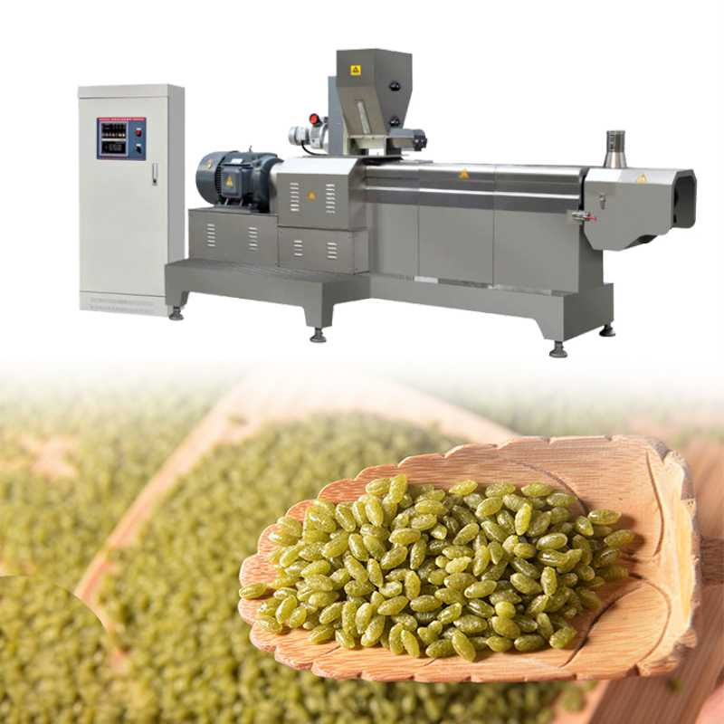 Multifunction Artificial Rice Making Machine Twin-Screw Convenience Rice Production Line