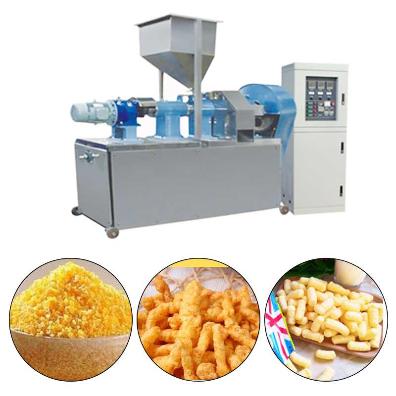 200KG Per Hour High Productivity Wheat Flour Snack Making Machine Sticks Snack Fried Wheat Dough Snack Machine