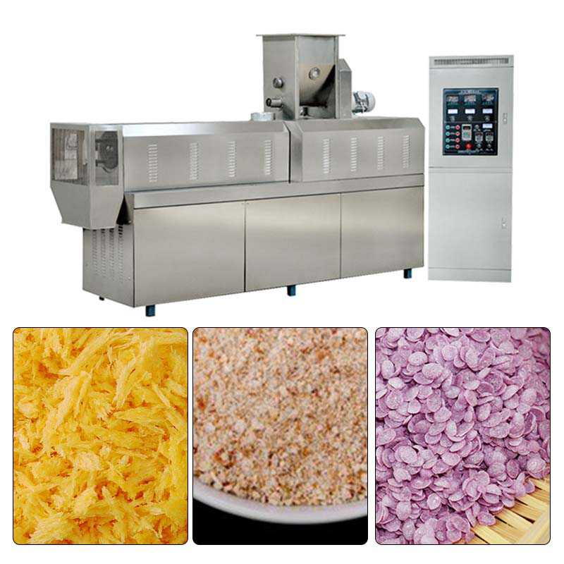 Professional Bread Crumbs Making Machine With Custom-Design Service 50hz 3 Phase