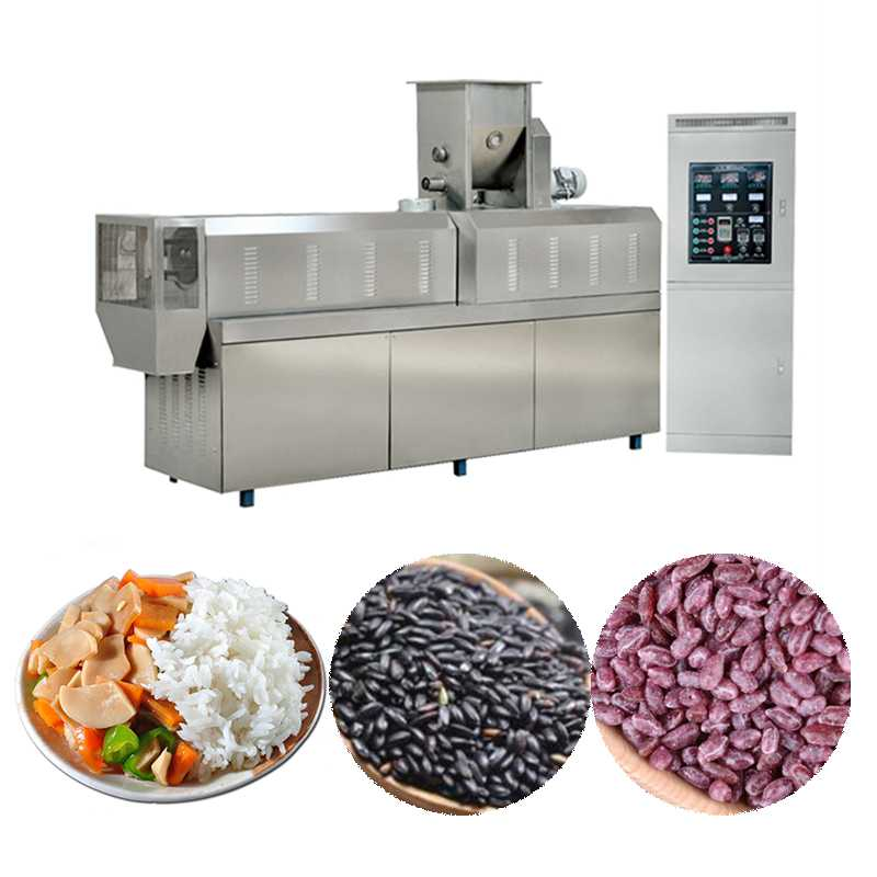 High Productivity Instant Rice Production Line with Siemens ABB