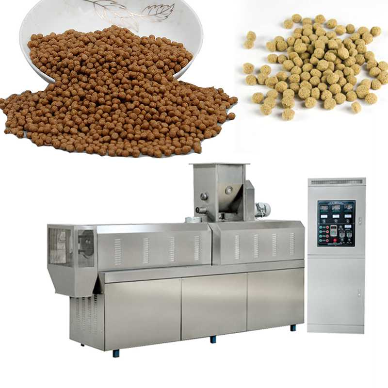 Low Electricity Fish Meal Fish Feed Production Line Cat Fish Feed Pellet Machine